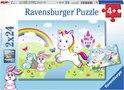 Ravensburger Puzzel Eenhoorns 2x 24 stuks