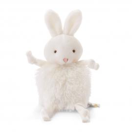 Roly-Poly knuffel konijn wit