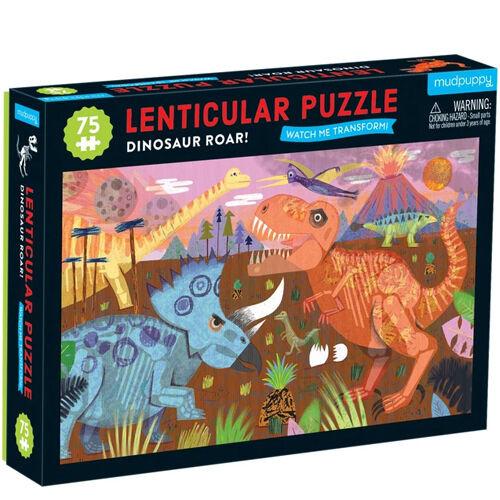 Lenticular Puzzel Dinosauriërs