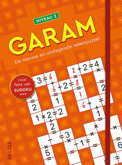 Puzzelboek Garam niveau 3