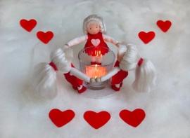 Hartenmeisjeslichtje