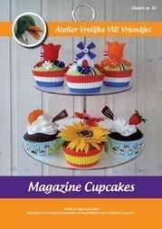 Magazine cupecakes