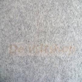 Melee lichtgrijs lapje 20 x 30 cm.
