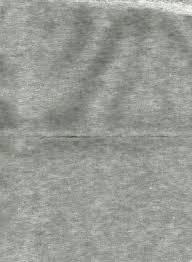 grijs gemeleerd velours 50 x 70 cm.
