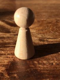 Kegelpopje 3.5 cm
