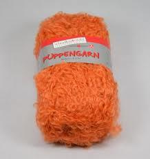 Haartjes wol oranje