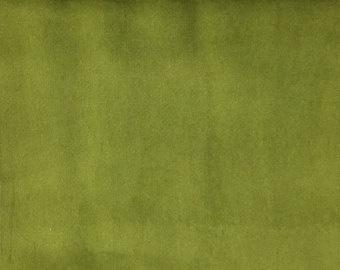 mosgroen velours 50 x 70 cm.