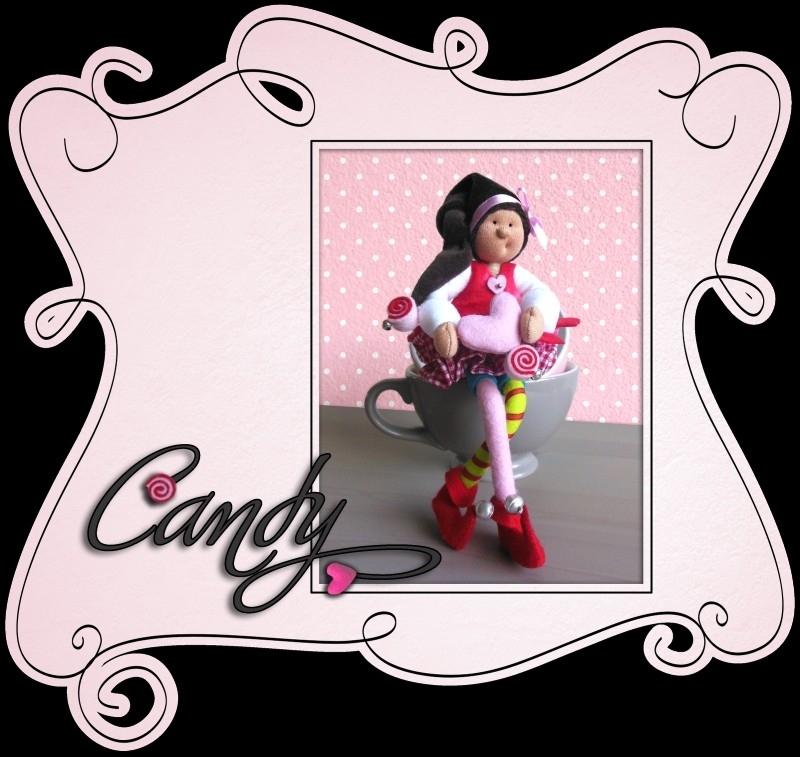 patroonblad Candy
