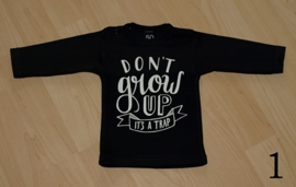 Shirtje zwart-wit