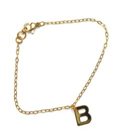 Letter Golden Bracelet