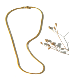 Twisted Golden Necklace