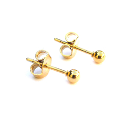 Tiny Dots Golden Earstuds