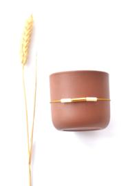 Topaz Jade & Tube Bracelet