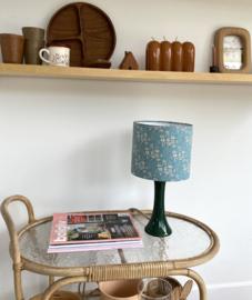 Liberty Turquoise & Ceramic Green Lamp