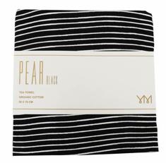 Tea towel Pear-black