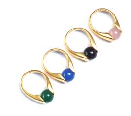 Opale & Gold Ring