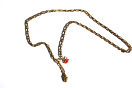 Shell & Coral Chain Necklace