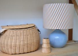 Pastel & Stripes Ceramic Lamp
