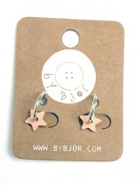 Ceramic Stars Earrings