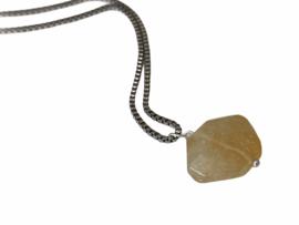 Citrine Crystal Necklace
