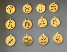 Zodiac Golden Necklace