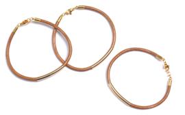 Tube leather bracelet LTD.