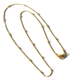 Ball Chain Golden Necklace
