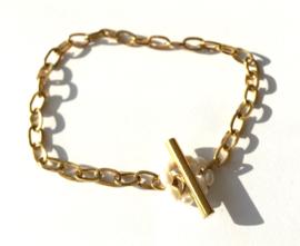 Pearl Circle Chain Bracelet