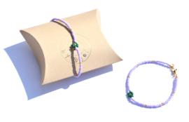 Beads & Flower Bracelet