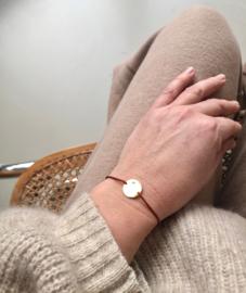 Zirconic Coin Bracelet