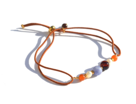 Stone & Pearl Bracelet