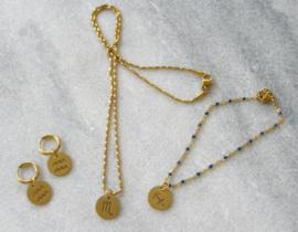 Zodiac Golden Necklace