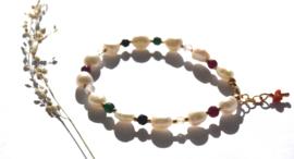 Colorful Keshi Pearl Bracelet