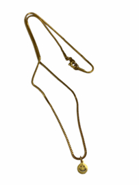 Happy Smile Golden Necklace