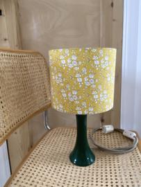 Liberty Organic Yellow & Ceramic Green Lamp