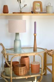 Ceramic Stripe Lamp