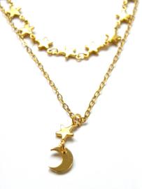 Stars Short Necklace