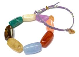 Liberty Cord & Charm Bracelet