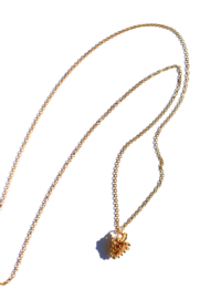 Pine Cone Golden Necklace