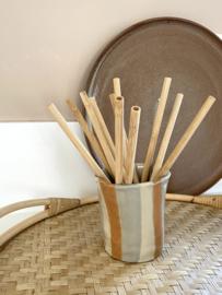 Bamboo Straws Set