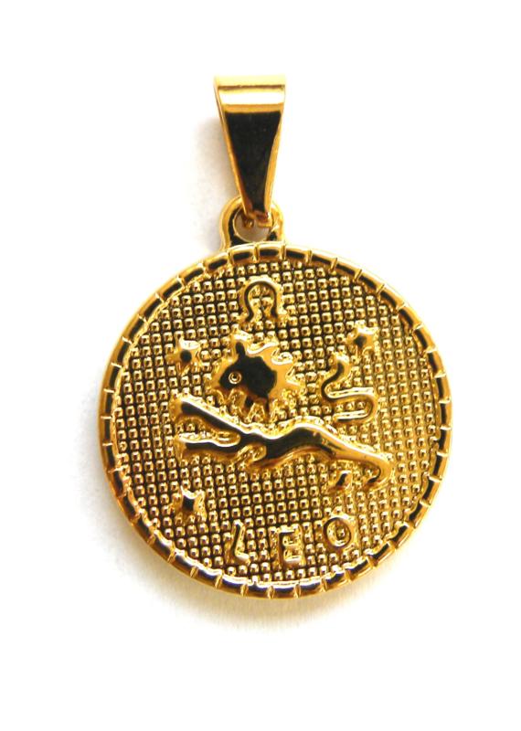 Zodiac Big Coin Charm