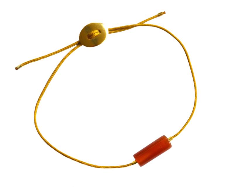 Agate Stone Cord Bracelet