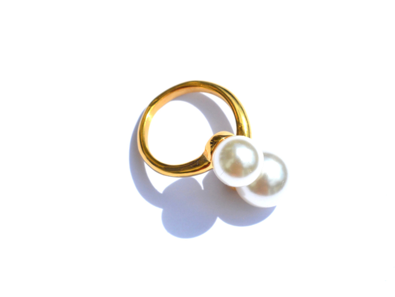Pearl Golden Ring