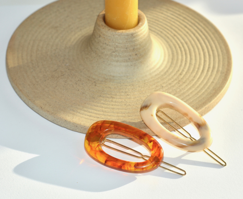 Ovale Natural Hairclip
