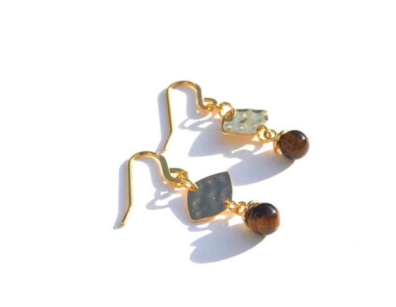 Leave Golden Earrings