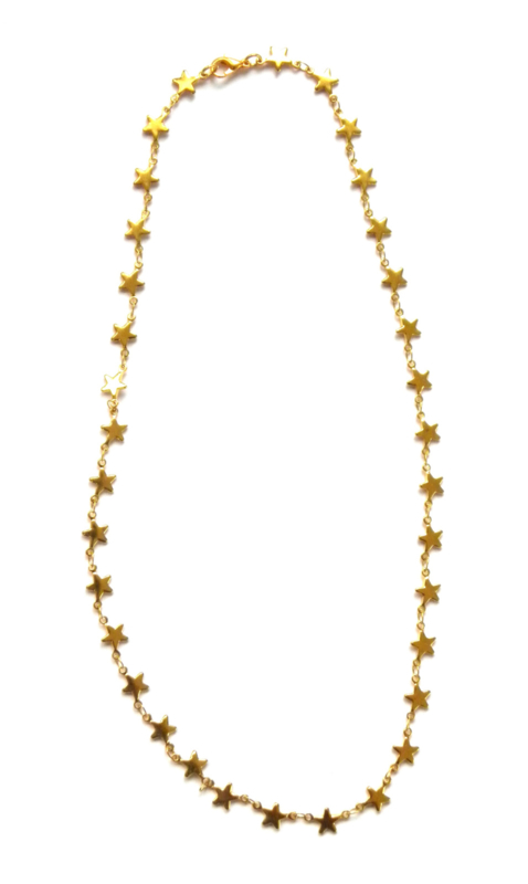 Stars Short Necklace
