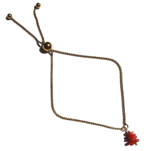 Coral Golden Bracelet