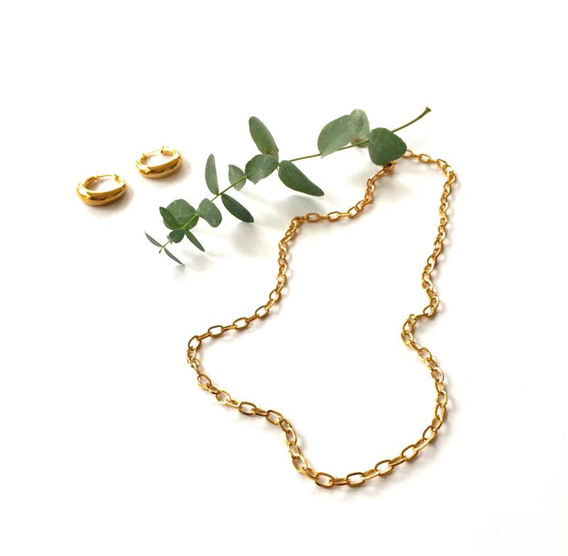 Chain Golden Necklace
