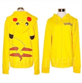 Mooie gele Pikachu Pokémon vest