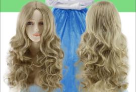 Blonde Cinderella pruik